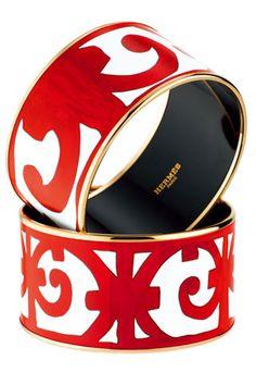 hermes enamal bracelets