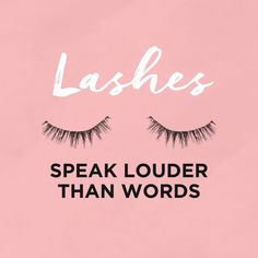 Lashes have lots to say. Wait and see what we have in store for you! Lash Quotes, Makeup Quotes, Beauty Quotes, Best Lashes, Fake Lashes, Wallpaper Makeup, Permanent Makeup Eyebrows, Eyelashes Makeup, Eyelash Logo