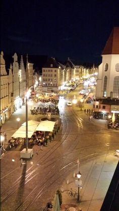 Germany Augsburg Moritzplatz und Maximilianstraße