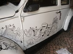 Paint Fusca - via ElvisBenicio