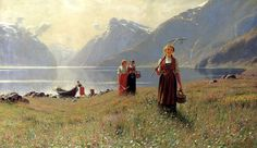 Norwegian Painter Hans Dahl (1849-1937) ~ Blog of an Art Admirer