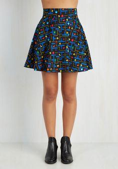 Playful Feeling Skirt in Arcade, #ModCloth