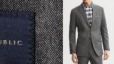 Banana Republic Tweed Suit Blazer & Pant