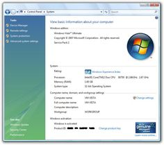 How to Find Your Windows Vista Service Pack Version: Windows Vista Service Pack Information