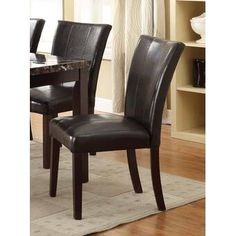 New Heneghan Upholstered Dining Chair (Set online - Topprettystyles Solid Wood Dining Chairs, Upholstered Dining Chairs, Chair And Ottoman, Dining Chair Set, Dining Room, Wood Crosses, Parsons Chairs, Chairs Online, Barrel Chair