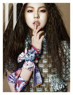 [OFFICIAL] WONDER GIRLS' SOHEE – W KOREA Magazine, April 2013 ⓒW KOREA http://www.style.co.kr/w/