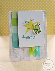Sweet Stamp Shop - Royal Wish  Card by Chrissy Larson, DT  Set available in Australia from www.dawnlewis.com.au  #sweetstampshop #fairytalestamps