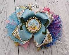 Shopkins Bow  Over the Top Bow  Shopkins party  Girls by SilkHands