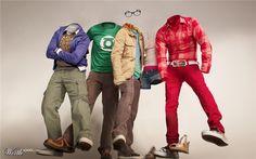 The Big Bang Theory Invisible World