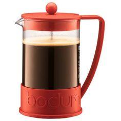 Brazil, kaffepress 8 koppar, röd French Press, Caffeine, Coffee Maker, Kitchen Appliances, Coffee Maker Machine, Diy Kitchen Appliances, Coffee Percolator, Home Appliances, Coffee Making Machine