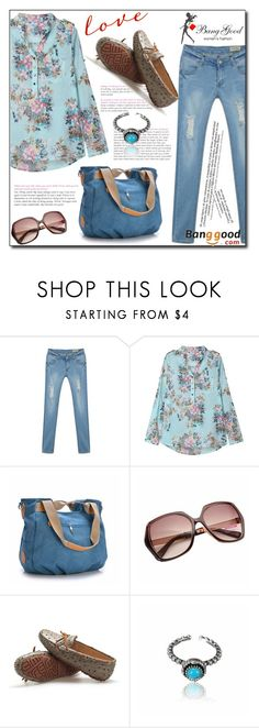 """Banggood 1/ IV"" by esma178 ❤ liked on Polyvore featuring women's clothing, women, female, woman, misses and juniors"