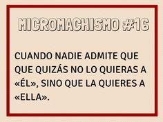 Micromachismo #16
