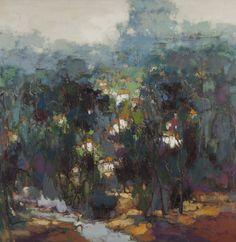 Zheng Yong Gang, oilieverf
