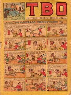 el TBO. Nº1, agosto de 1952.
