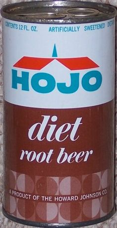 Have a HoJo diet soda can? Please contact me for an offer! Diet Root Beer, Howard Johnson's, Pop Cans, Red Bull, Sugar Free, Soda, Canning, Drinks, Vintage