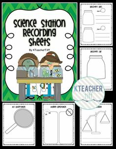 #FreebieFriday ~ #FREE Science Station Recording Sheets Freebie