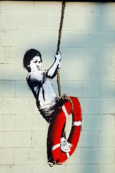 Banksy's Latest Work Protests Violence Against Syrian Children