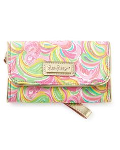 It\'s a Keeper All Nighter Phone Wristlet by Lilly Pulitzer at Neiman Marcus.