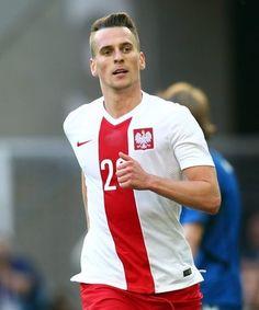 Arkadiusz Milik National Football Teams, Football Soccer, Most Handsome Men, Science Art, Soccer Players, Art Music, Poland, Movie Tv, Lovers