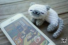 NekoAtsume kitty FREE amigurumi pattern **Amigurumi Queen on Pinterest