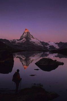 king of the alps ... the matterhorn