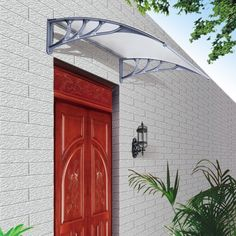 Silver Door Canopy - Furniture | Gifts | Accessories & Coopers Door Canopy | canopy | Pinterest | Door canopy Canopy and ...