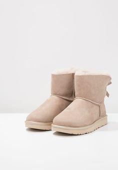 d6a1016257e491 Chaussures UGG MINI BAILEY BOW II METALLIC - Bottines - driftwood beige   199