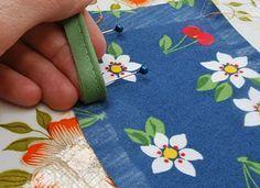 Paspelband in een rokje naaien