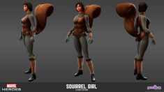 Squirrel Girl - Classic Costume