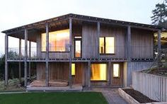 RIBA South West & Wessex Award Dundon Passivhaus by Prewett Bizley Architects External Cladding, Timber Cladding, Architecture Today, Architecture Awards, Grand Designs Houses, Las Vegas, Architects Journal, Agricultural Buildings, 2 Storey House