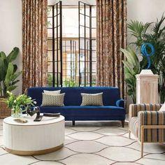 Decoración de interiores y exteriores, decora tu casa - HOLA Outdoor Sectional, Sectional Sofa, Couch, Interior Exterior, Outdoor Furniture, Outdoor Decor, Home Decor, House Decorations, Furniture