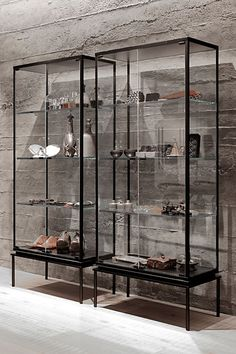 Image result for home zone double glass display cabinet #GlassShelvesRetail