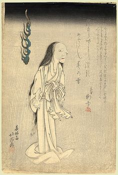 The Ghost of Oiwa by Hokushu by timtak, via Flickr