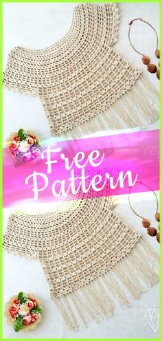 Crochet Pattern Modest Princess Summer Top #freecrochet #crochet #free #pattern #tutorialcrochet #crochetpatterns