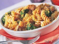 Pasta-Auflauf mit Brokkoli