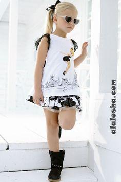 Monnalisa Spring-Summer Outfits For Girls 2018 Little Girl Models, Little Girl Outfits, Cute Outfits For Kids, Dope Outfits, Summer Outfits, Young Girl Fashion, Tween Fashion, Fashion Tips For Women, Disney Fashion