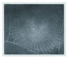 Vija Celmins  Web #5  1999 Charcoal on paper. Collection of McKee Gallery, New York.