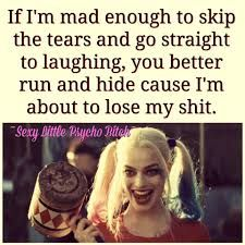 Joker Quotes : 23 Joker quotes that will make you love him more 35 best Harley Quinn Suicide Sq… – Humor bilder Bitch Quotes, Joker Quotes, Badass Quotes, True Quotes, Funny Quotes, Harley Quin Quotes, Psycho Quotes, Dc Memes, Joker And Harley Quinn