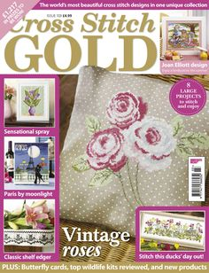 """Cross Stitch Gold, issue 103.  Click on """"unnamed gallery"""" at the top of screen to see all pages.  Click on selected page and be patient for it to download.Cross.  English"""