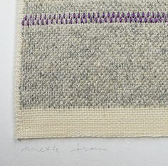 wool tapestry : Anette Blaesbjerg Orom