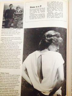 A look at Princess Diana's 1980's fashion; Benny Ong