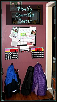 Family Command Center #organization #forthehome: