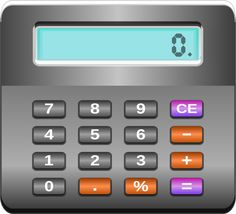 Calculator by @ilnanny, calculator, on @openclipart