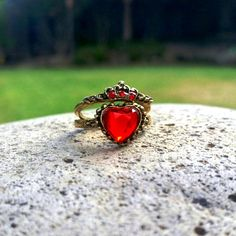 Disney Descendants Inspired Stackable Rings by FishesGiveKisses