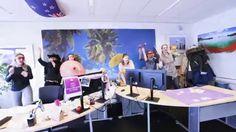 Gewoon een Happy werkdag op het kantoor van Riksja!