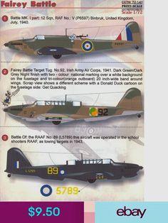 Colour Schemes, Scale Models, Wwii, United Kingdom, Fighter Jets, Ireland, Irish, Battle, Decals