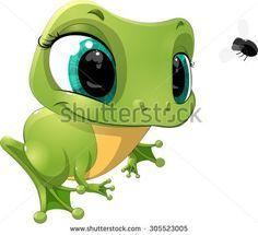 Frog Avatar. Cartoon Animal Icon Design Royalty Free Cliparts ...