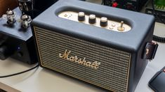 Marshall Kilburn   Marshall most known for its black-and-gold liveried guitar amps has moved into the headphone and speaker space. To that end the company has a line of wired and wireless headphones like the Marshall Major II and Marshall Mid and now a set of Bluetooth speakers the Marshall Stockwell and the Marshall Kilburn the speaker were talking about today.  While the Bluetooth speaker market is saturated with a plethora of options Marshall has created a line of speakers that will…