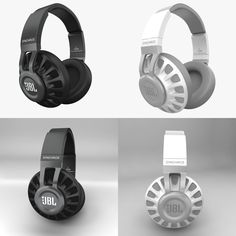 JBL Black Model available on Turbo Squid, the world's leading provider of digital models for visualization, films, television, and games. Sound Design, Game Design, Icon Design, Print Design, 3ds Max, Beats Headphones, Over Ear Headphones, Directed Drawing, Fashion Graphic Design