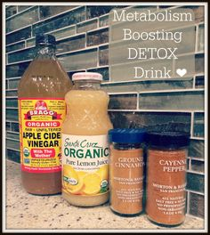 Metabolism Boosting Detox Drink!